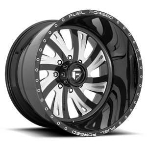 FF32 - 8 Lug Gloss Black & Milled