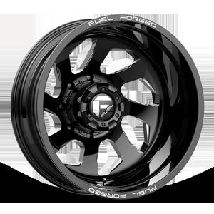 FF39D - 8 Lug Rear Gloss Black Milled - 22x8.5
