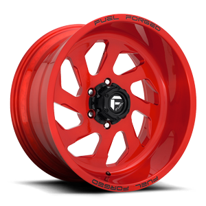 FF39 - 6 Lug Candy Red