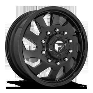 FF39D - 10 Lug Front Gloss Black