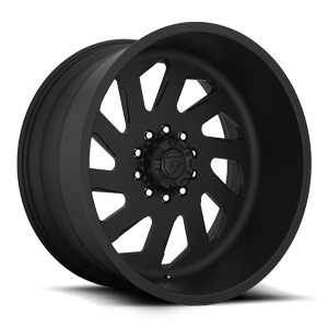 FF39D - 10 Lug Super Single Front Matte Black