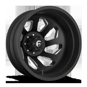 FF39D - 8 Lug Rear Matte Black & Milled w/ No Dimples