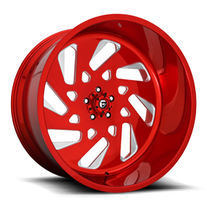 FF40 - 5 Lug Candy Red