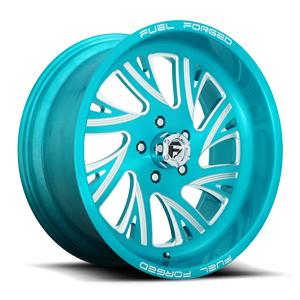 FF41 - 5 Lug Brushed Teal