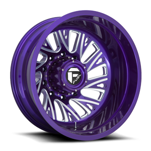 FF41D - Rear Candy Purple & Milled