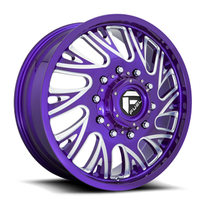 FF41D - Front Candy Purple & Milled