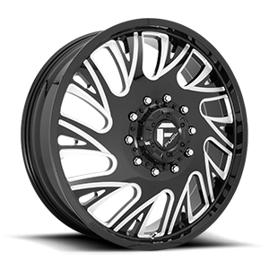 FF41D - Front Gloss Black Milled