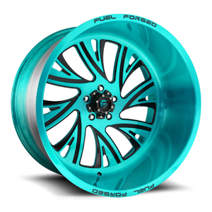 FF41 - 5 Lug Brushed Cortez Teal