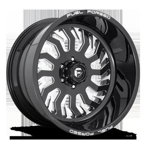 FF43 Gloss Black & Milled