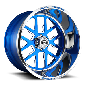 FF45 - 6 Lug Candy Blue w/ Polish Windows