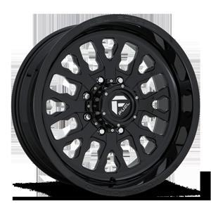 FF45 - 8 Lug Gloss Black