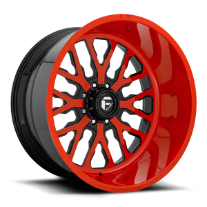 FF45 - 8 Lug Competition Orange w/ Black accents