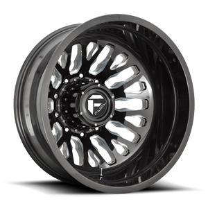 FF45D - Rear Candy Black & Milled