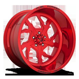 FF51 - 5 Lug Candy Red