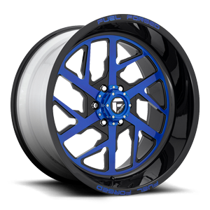 FF51 - 6 Lug Illusion Blueberry
