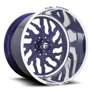 FF51 - 8 Lug Illusion Blue