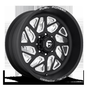 FF51D - Super Single Front Matte Black & Milled