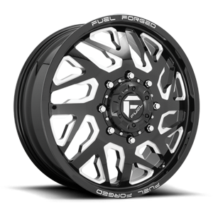 FF51D - Front 22x8.25 | Gloss Black Milled