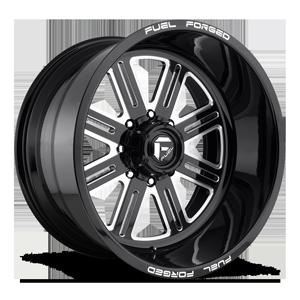 FF54 - 8 Lug Gloss Black & Milled