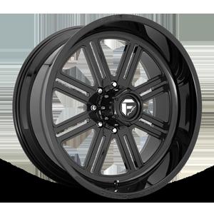 FF54 - 8 Lug Gloss Black
