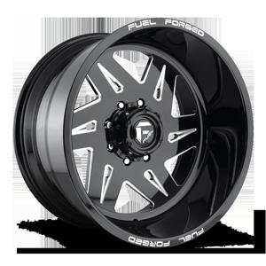 FF56 Gloss Black & Milled