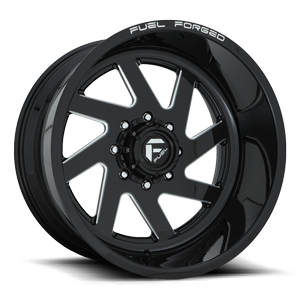 FF65 Gloss Black & Milled