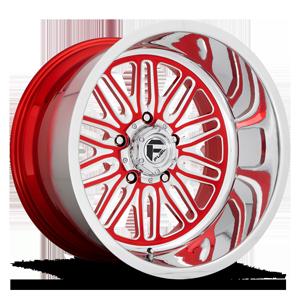 FF66 - 5 Lug Candy Red w/ Polish Lip