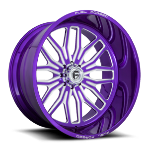 FF66 - 8 Lug Lollipop Purple