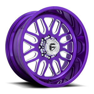 FF66D - Super Single Front Candy Purple
