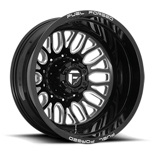 FF66D - 10 Lug Rear Gloss Black & Milled
