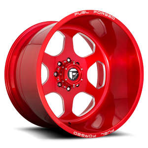 FF69 Candy Red & Milled