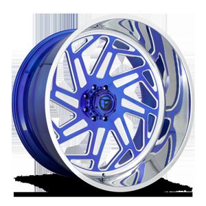 FF73 Lollypop Blue & Milled w/ Polished Lip