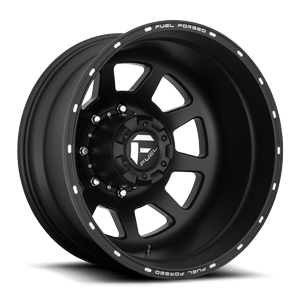 FF82D - Rear Matte Black & Milled
