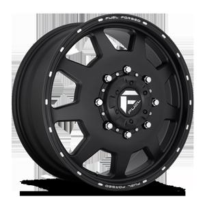 FF82d - Front Matte Black & Milled
