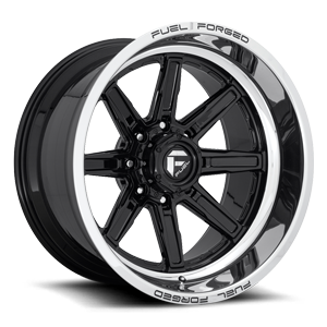 FFC102 | Concave Gloss Black w/ Polished Lip