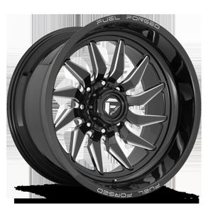 FFC107 Gloss Black & Milled