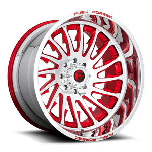 FFC30 | Concave Brushed w/ Candy Red