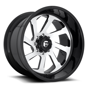 FFC39 | Concave Brushed Center w/ Gloss Black
