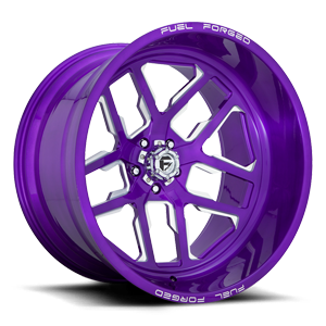 FFC45 - 5 Lug | Concave Candy Purple & Milled