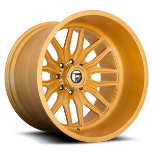 FFC66 | Concave 8 Lug Brushed Matte Gold