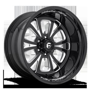 FFS87 Black & Milled