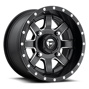 Maverick - D538 - UTV Black & Milled