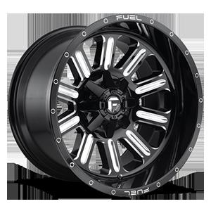 Hardline - D620 Gloss Black & Milled