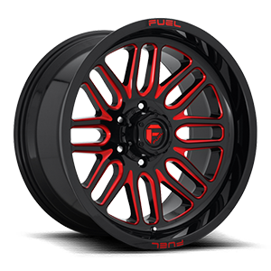 Ignite - D663 Gloss Black w/ Candy Red