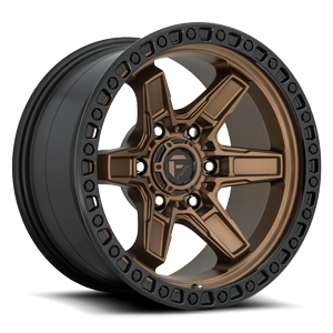 Kicker 6 - D699 17x9 ET-12 | Bronze Center w/ Black Lip