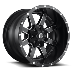 Maverick - D538 20x12 -44 | 8 Lug | Black & Milled