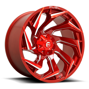 Reaction - D754 Candy Red & Milled