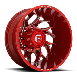 Runner Dually Rear - D742 Candy Red Milled - 20x8.25 - ET-176