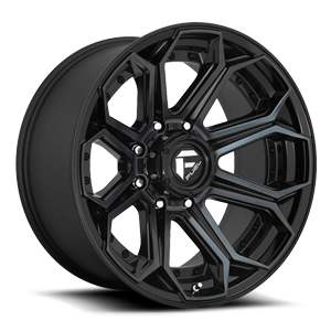 Siege - D704 Gloss Black/Brushed Gloss DDT