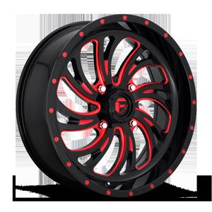 Kompressor - D642 - UTV Gloss Black w/ Candy Red